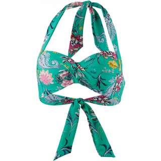 Seafolly Water Garden Bikini Oberteil Damen evergreen