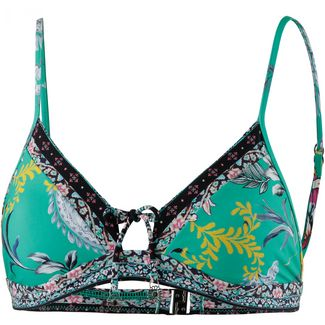 Seafolly Water Garden Bikini Oberteil Damen evergreen