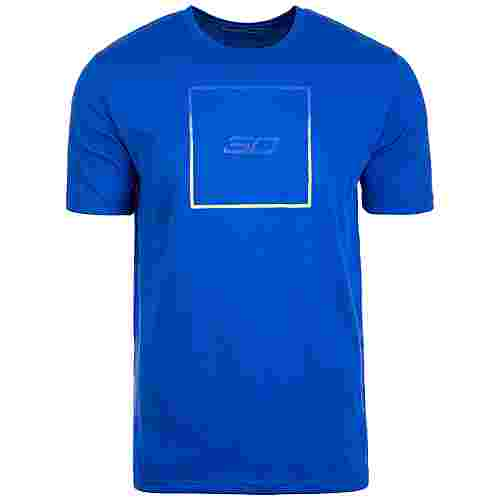 Under Armour SC30 Box Logo Basketball Shirt Herren blau / neongelb