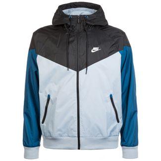Nike Windrunner Outdoorjacke Herren blau / schwarz