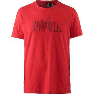 OCK T-Shirt Herren rot