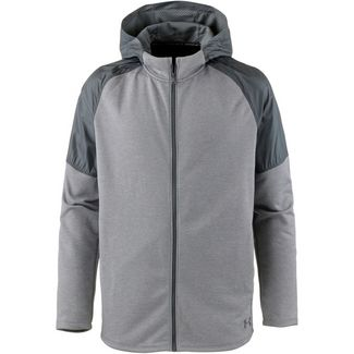 Under Armour MK1TERRY Funktionsjacke Herren gray