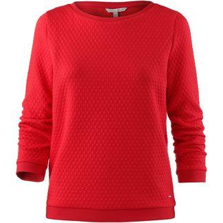 TOM TAILOR Sweatshirt Damen brilliant red