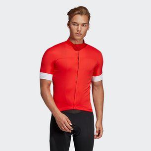 adidas T-Shirt Herren Hi-Res Red/White