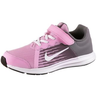 Nike Downshifter 8 Laufschuhe Kinder pink-rise-white-gunsmoke-black