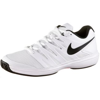 Nike AIR ZOOM PRESTIGE HC Tennisschuhe Herren white-black-bright crimson