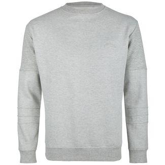 Soulstar Sweatshirt Herren grau melange
