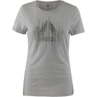 Reebok GS MOTION T-Shirt Damen medium grey heather