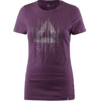 Reebok GS MOTION T-Shirt Damen bordeaux