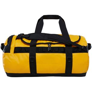 The North Face Base Camp Duffel Reisetasche summit gold-tnf black