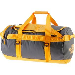 The North Face Base Camp Duffel Reisetasche asphalt grey-zinnia orange