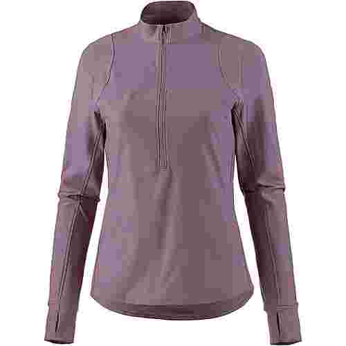 Under Armour Qualifier Laufshirt Damen purple
