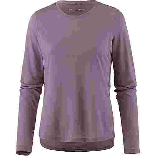 Under Armour Streaker Laufshirt Damen purple