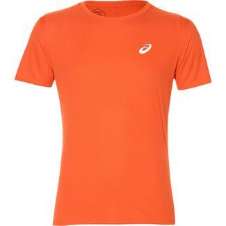 ASICS Silver Laufshirt Herren nova orange