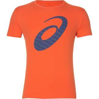 ASICS Silver Graphic Laufshirt Herren nova orange