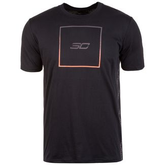 Under Armour SC30 Box Logo Basketball Shirt Herren schwarz / orange