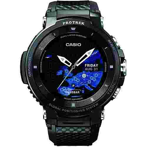 CASIO WSD-F30 Smartwatch Schwarz