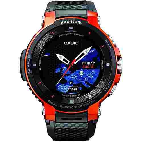 CASIO WSD-F30 Smartwatch Orange