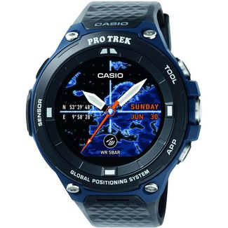 CASIO WSD-F20A Smartwatch Blau