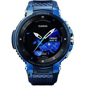CASIO WSD-F30 Smartwatch Blau