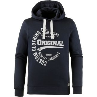 TOM TAILOR Hoodie Herren sky captain blue