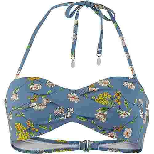 Maui Wowie Flower Bikini Oberteil Damen royal