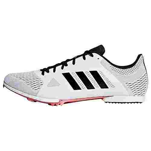 adidas Adizero Middle-Distance Spike-Schuh Laufschuhe Herren Cloud White / Core Black / Shock Red