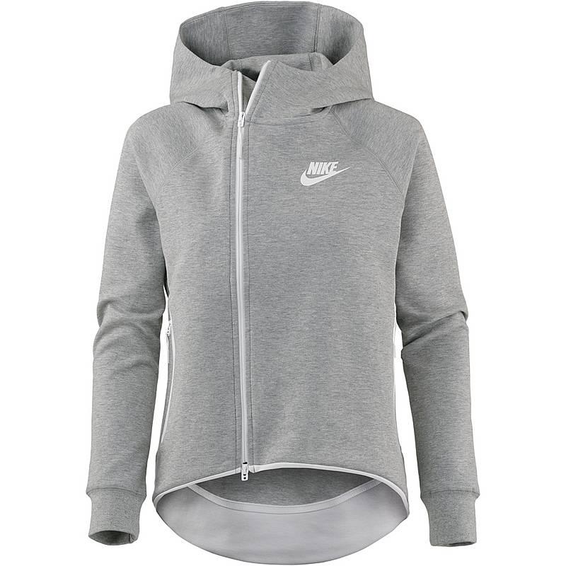 Nsw Damen Heather Tech Sweatjacke Grey Nike White Im Fleece Dark AICdqxI0w