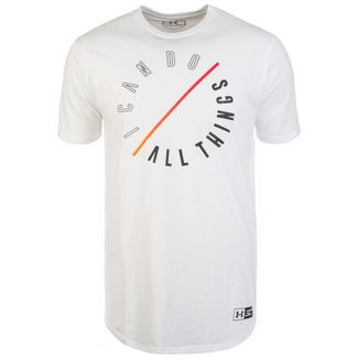 Under Armour SC30 ICDAT Basketball Shirt Herren weiß / orange