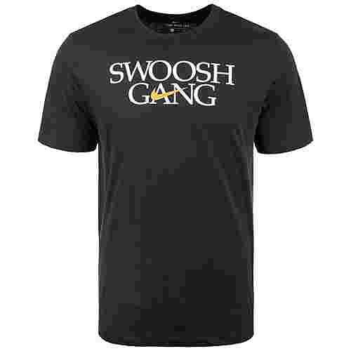 Nike Swoosh Gang T-Shirt Herren schwarz / weiß