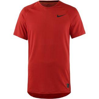 reputable site bd970 ad6a5 Nike Pro Breathe Funktionsshirt Herren mystic red-mystic red-fuel  orange-black