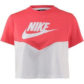 Nike NSW HRTG Croptop Damen white-ember glow-white