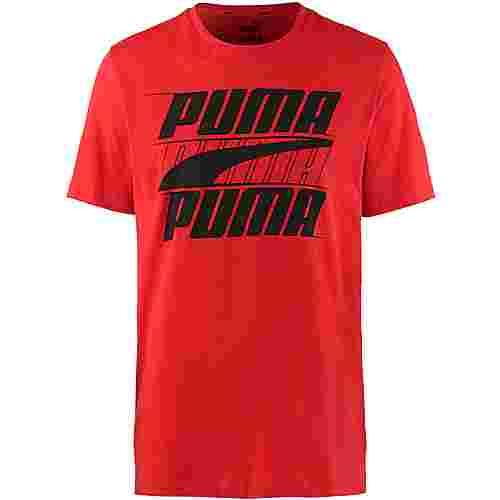 PUMA Rebel T-Shirt Herren high risk red