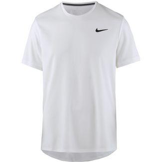 Nike M NKCT DRY TOP SS CLRBLK Tennisshirt Herren white-white-black