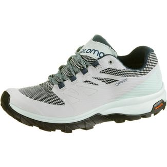 Salomon OUTline GTX® Wanderschuhe Damen pearl blue-icy morn-reflecting pond