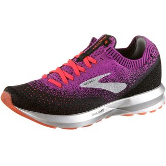 Brooks Levitate 2 Laufschuhe Damen purple-fiery coral-black