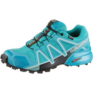 Salomon SPEEDCROSS 4 GTX® Laufschuhe Damen bluebird-icy morn-ebony