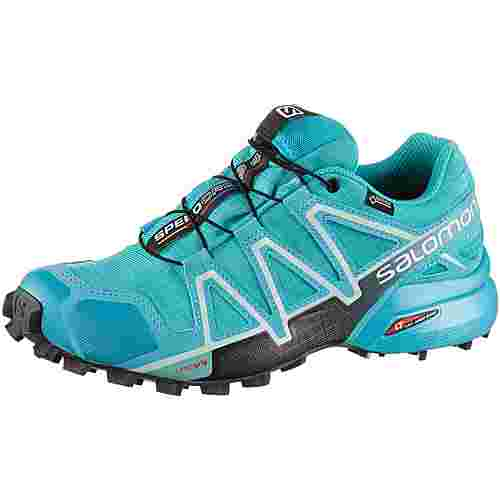 Salomon SPEEDCROSS 4 GTX® Trailrunning Schuhe Damen bluebird-icy morn-ebony