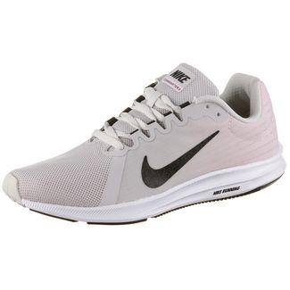 Nike DOWNSHIFTER 8 Laufschuhe Damen vast grey-black-pink foam-white