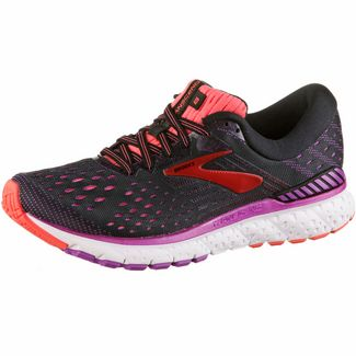 Brooks Transcend 6 Laufschuhe Damen black-purple-coral