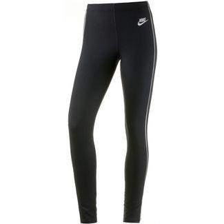Nike NSW HRTG Leggings Damen black-white-white