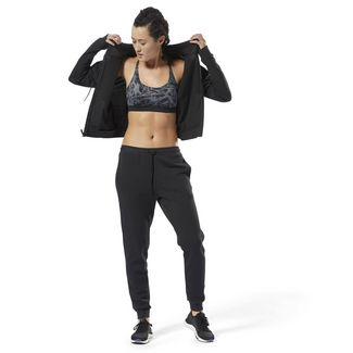Reebok Training Supply Knit Tracksuit Trainingsanzug Damen Schwarz