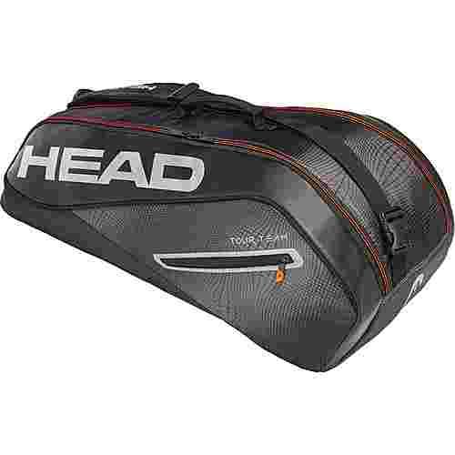 HEAD Tour Team 6R Combi Tennistasche schwarz