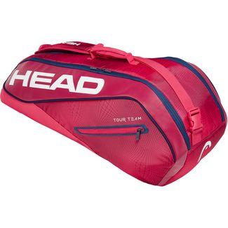 HEAD Tour Team 6R Combi Tennistasche rot