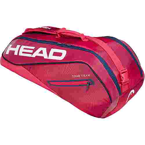 HEAD Tour Team 6R Combi Tennistasche rot