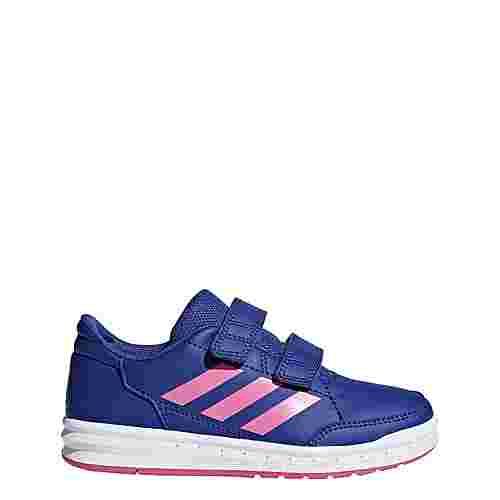 adidas AltaSport Schuh Hallenschuhe Kinder Active Blue / Semi Solar Pink / Ftwr White