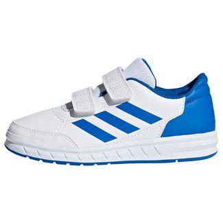 adidas AltaSport Schuh Hallenschuhe Kinder Ftwr White / Blue / Blue