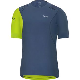 GORE® WEAR R7 Funktionstank Herren deep water blue-citrus green