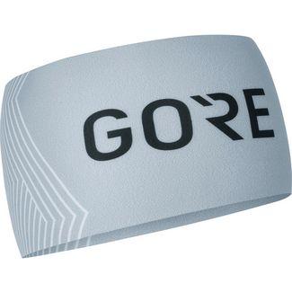 GORE® WEAR Optiline Stirnband light grey-white