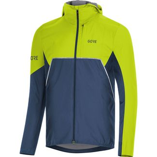 GORE® WEAR R7 Partial INFINIUM™ GORE-TEX® Laufjacke Herren deep water blue-citrus green